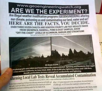 Handout: 'Are we the experiment?'
